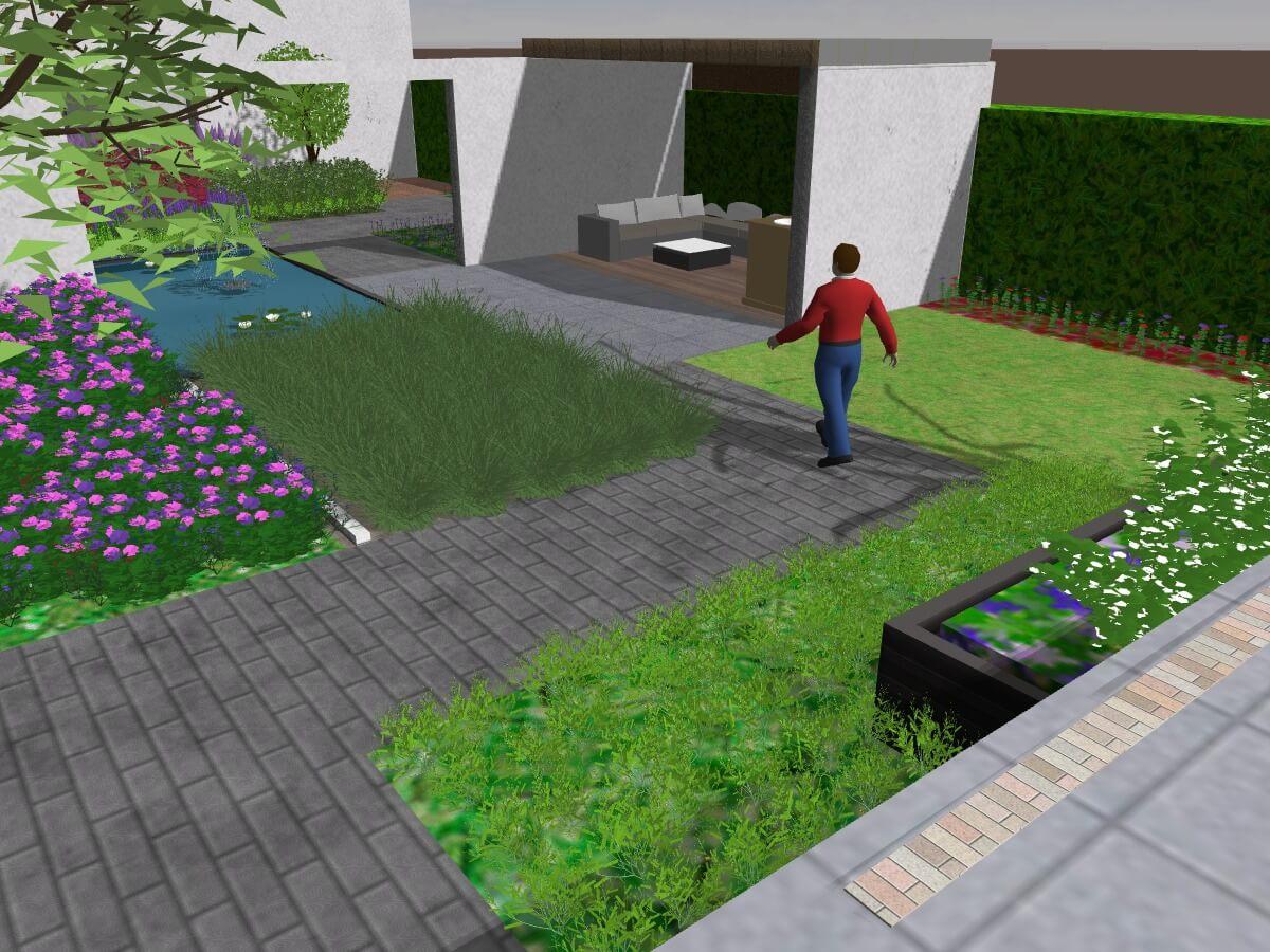 Het tuinontwerp is het begin van elke tuin van laar tuinen
